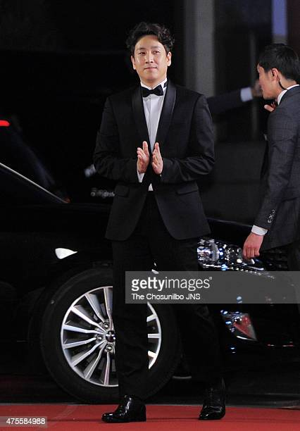 Lee SunKyun attends the 51st Baeksang Arts Awards at Grand Peace Palace in Kyung Hee University on May 26 2015 in Seoul South Korea