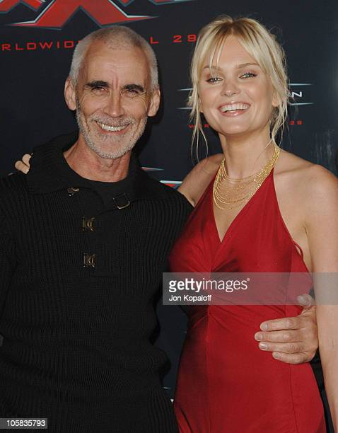 """Lee Tamahori and Sunny Mabrey during """"XXX: State of the Union"""" Los Angeles Premiere - Arrivals at Mann Village Westwood in Westwood, California,..."""