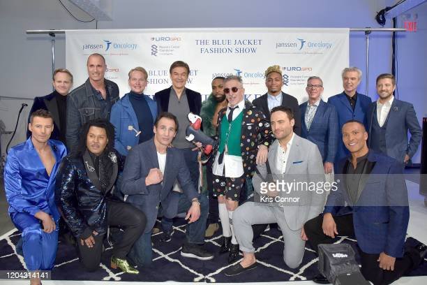 Lee Tergesen Nigel Barker Carson Kressley Dr Oz Yusuf Myers Simon Doonan Buster Skrine Elvis Duran David Byrne and Billy Gilman Alex Lundqvist TyRon...