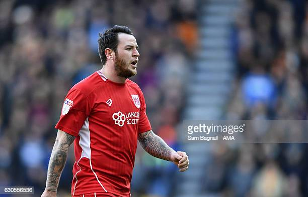 Lee Tomlin of Bristol City during the Sky Bet Championship match between Wolverhampton Wanderers and Bristol City at Molineux on December 26 2016 in...