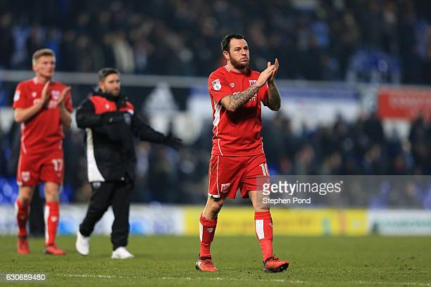 Lee Tomlin of Bristol City leaves the field dejected after the Sky Bet Championship match between Ipswich Town and Bristol City at Portman Road on...