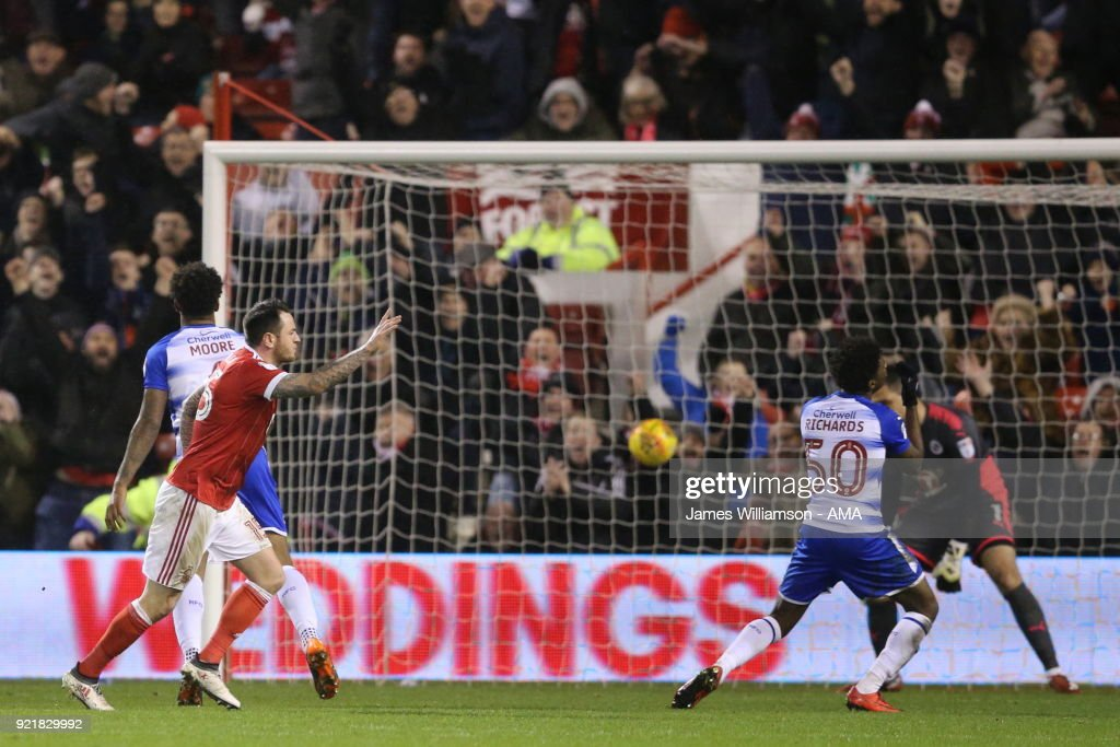 Nottingham Forest v Reading - Sky Bet Championship : News Photo