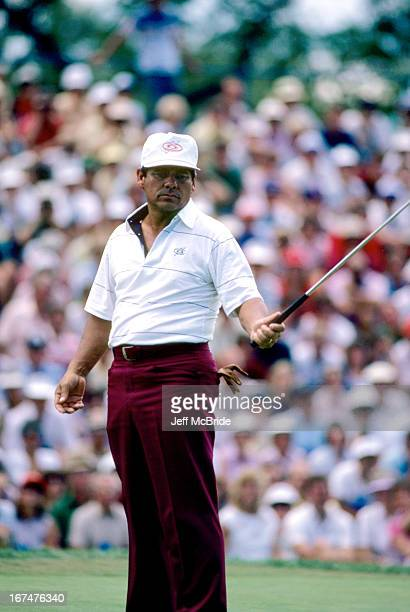 Lee Trevino during the 67th PGA Championship held at Cherry Hills Country Club in Englewood Colorado August 811 1985