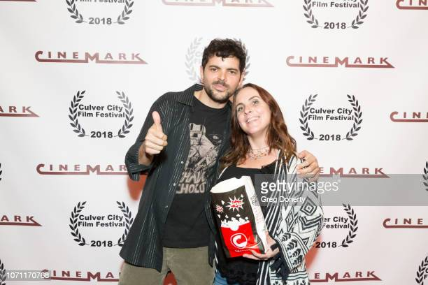 Lee Troutman and Kathy Eads attend a screening of Acts Of Desperation At Culver City Film Festival Starring Paul Sorvino Kira Reed Lorsch Jason...
