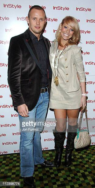 Lee Trundell and Liz McLarnon during InStyle Magazine Best Beauty Awards at Sketch in London Great Britain