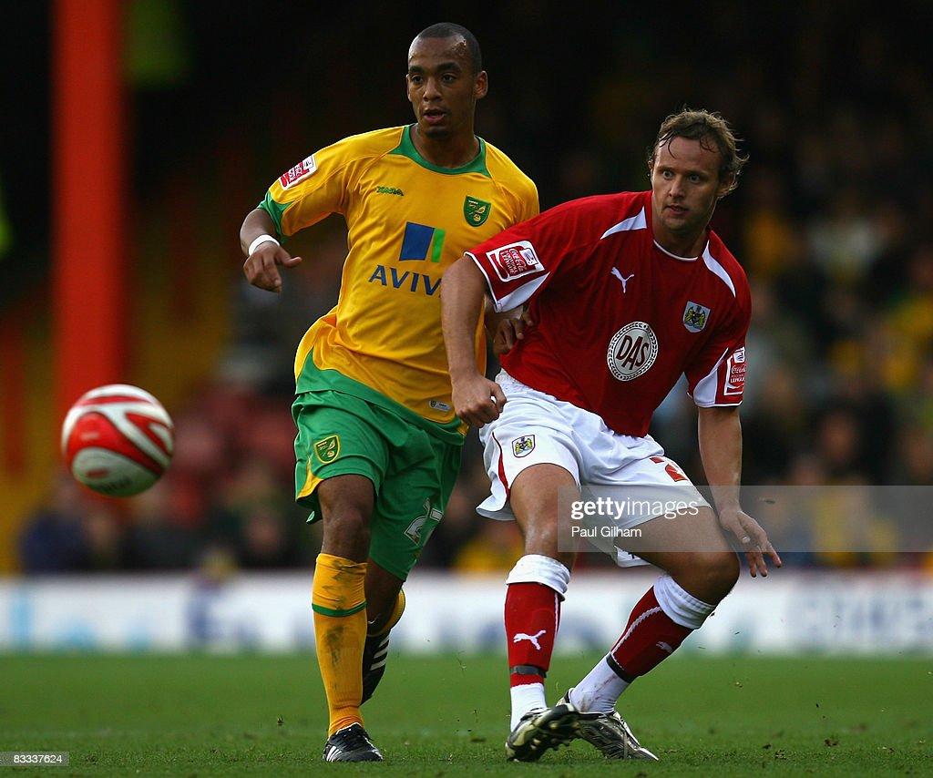 Bristol City v Norwich City : Nachrichtenfoto