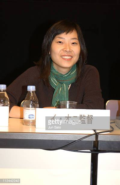 Lee Unhee during 17th Annual Tokyo International Women's Film Festival Press Conference at Tokyo Women's Plaza Hall in Tokyo Japan