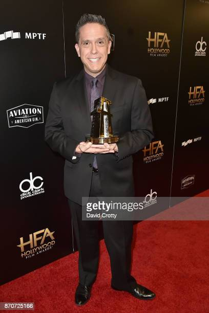 Lee Unkrich attends the 21st Annual Hollywood Film Awards Backstage on November 5 2017 in Beverly Hills California