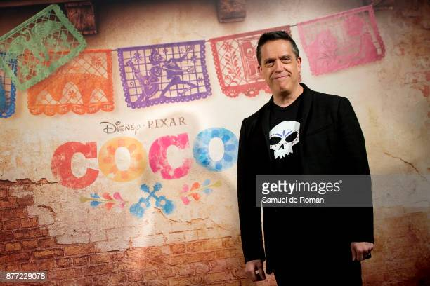 Lee Unkrich during 'Coco' Madrid Photocall on November 22 2017 in Madrid Spain