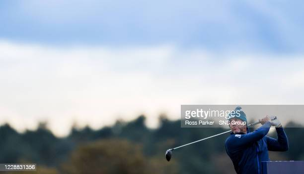 Lee Westwood during the Aberdeen Standard Investments Scottish Open at the Renaissance Club on October 1st in North Berwick, Scotland.
