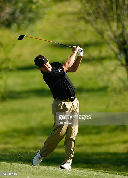 Lee westwood of England in action during the round three of the Valle Romano Open de Andalucia on May 12 2007 in Valle Romano Marbella Spain