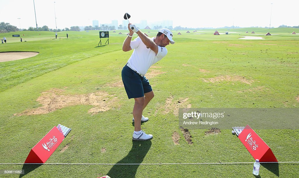 Abu Dhabi HSBC Golf Championship - Previews : News Photo