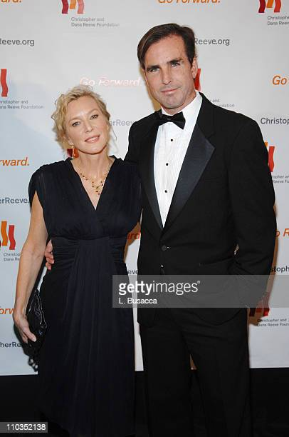 """Lee Woodruff and Journalist Bob Woodruff attend """"A Magical Evening"""" hosted by The Christopher and Dana Reeve Foundation at The Marriott Marquis on..."""