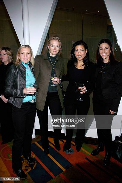 Lee Woodruff Jennifer Maguire Andrea Wong and Brooke Glassman Kanter attend La Mer luncheon in honor of Andrea Wong at Le Cirque on December 13 2007...