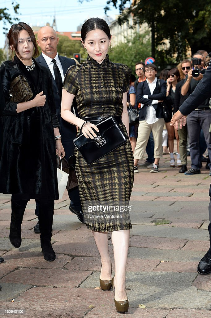 Gucci - Front Row - Milan Fashion Week Womenswear Spring/Summer 2014