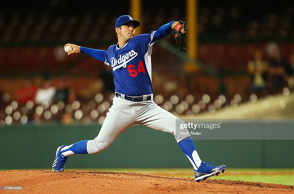 Team Australia v Los Angeles Dodgers