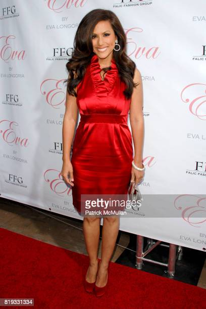 Leeann Tweeden attends Eva Longoria Fragrance Launch Event at Beso on April 27 2010 in Hollywood California