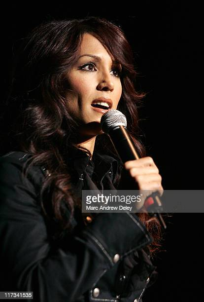 Leeann Tweeden during Country Takes New York City American Freedom Festival Show at Roseland Ballroom in New York City New York United States