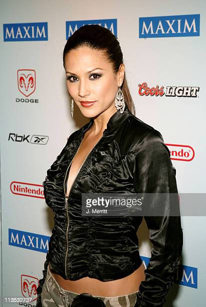 Leeann Tweeden during Super Bowl XXXIX The 'Maximony' Super Ball Party Arrivals February 5 2005 at The Garden Club in Jacksonville Florida United...