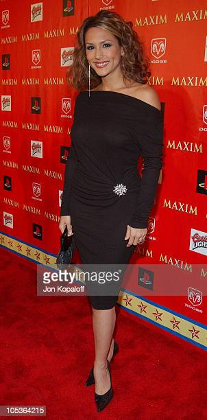 Leeann Tweeden during Super Bowl XXXVIII Circus Maximus Presented by Maxim at Regal Ranch in Houston Texas United States