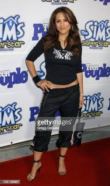 Leeann Tweeden during Teen People Celebrates The 6th Annual '25 Hottest Stars Under 25' at Lucky Strike Lanes in Hollywood California United States