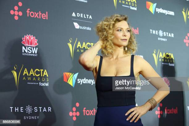 Leeanna Walsman attends the 7th AACTA Awards Presented by Foxtel | Ceremony at The Star on December 6 2017 in Sydney Australia