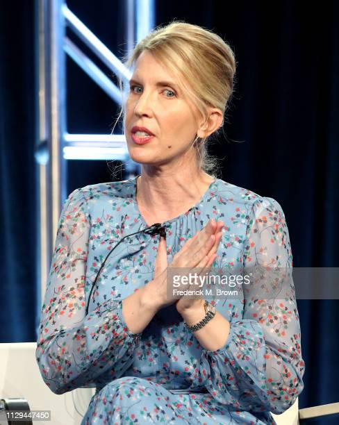 LeeAnne Adams of the television show 'Dwight in Shining Armor' speak during the BYUTv Session of the 2019 Winter Television Critics Association Press...