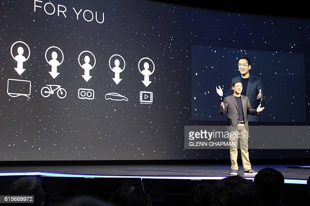 LeEco North America chief Richard Ren discussed the strategy of streaming content and services to the Chinese company's televisions electric cars...