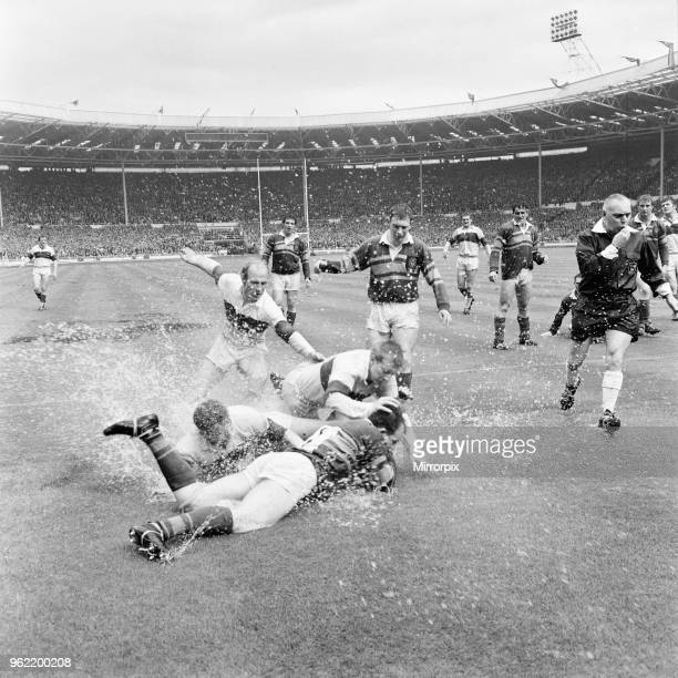 Leeds 1110 Wakefield Trinity Rugby League Challenge Cup Final match at Wembley Stadium London Saturday 11th May 1968 The match is also known as the...