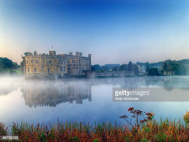 Leeds castle at dawn
