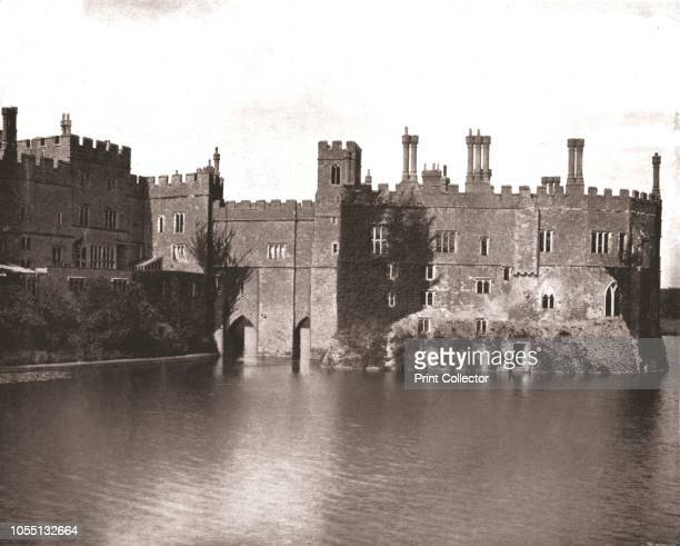 Leeds Castle Maidstone Kent 1894 Home of the WykehamMartin family Leeds was originally built in 1119 by Henry I It was transformed by Henry VIII into...