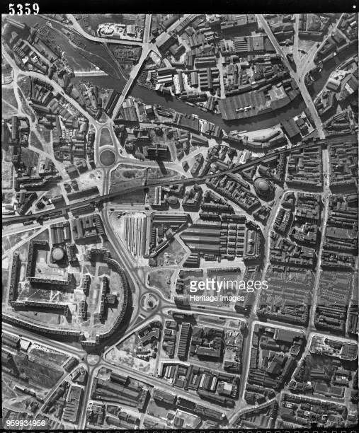 Leeds city centre West Yorkshire 28 March 1948 Artist RAF photographer