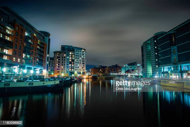 leeds dock complex - leeds stock pictures, royalty-free photos & images