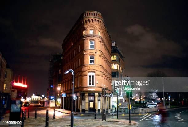leeds flatiron building - leeds stock pictures, royalty-free photos & images