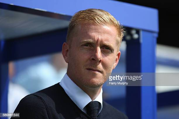 Leeds manager Gary Monk looks on prior to the Sky Bet Championship match between Queens Park Rangers and Leeds United at Loftus Road on August 7 2016...