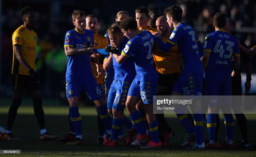 Newport County v Leeds United - The Emirates FA Cup Third Round