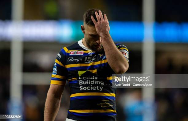 Leeds Rhinos' Luke Gale during the Betfred Super League match between Leeds Rhinos and Toronto Wolfpack at Emerald Headingley Stadium on March 5,...