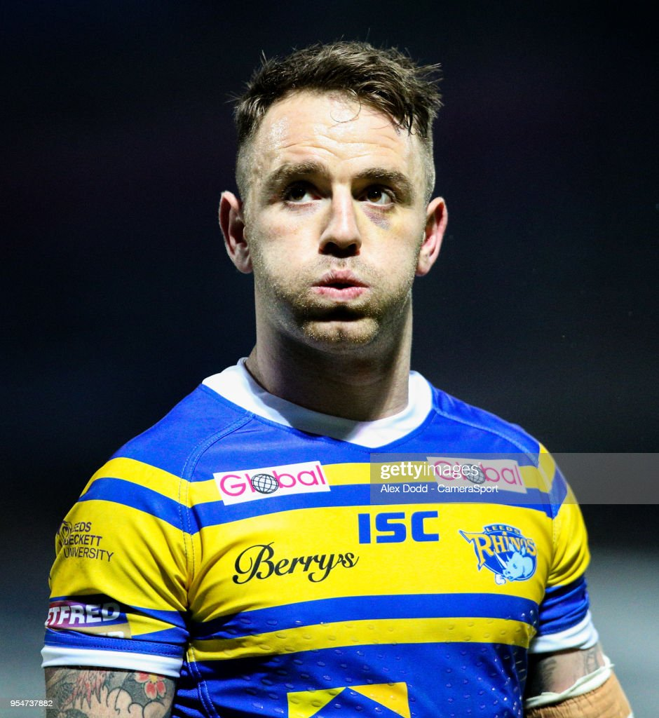 Leeds Rhinos' Richie Myler during the Betfred Super League Round 14 match between Leeds Rhinos and Warrington Wolves at Headingley Carnegie Stadium on May 4, 2018 in Leeds, England.