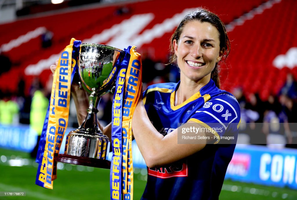 Leeds Rhinos v Castleford Tigers - Betfred Women's Super League - Grand Final - Totally Wicked Stadium : News Photo