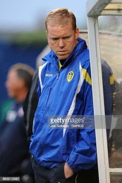 Leeds United assistant manager Steve Staunton