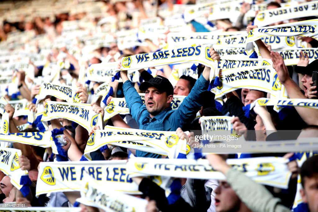 Leeds United v Derby County - Sky Bet Championship Play-off - Semi Final - Second Leg - Elland Road : News Photo