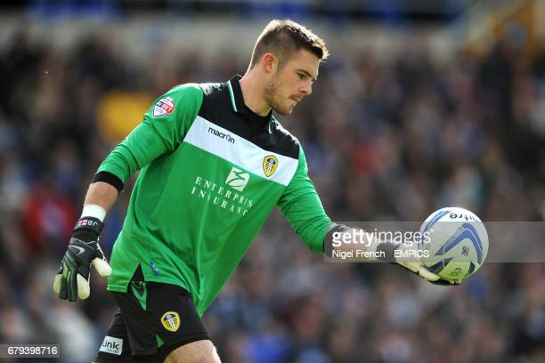Leeds United goalkeeper Jack Butland