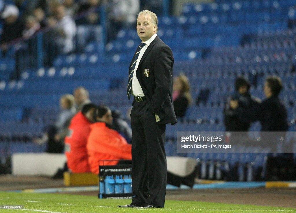 Soccer - Carling Cup second round match - Leeds v Barnet. : News Photo
