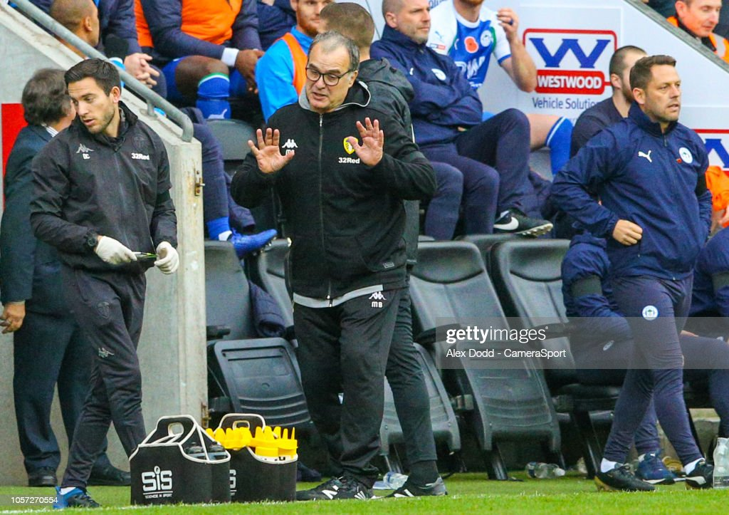 Wigan Athletic v Leeds United - Sky Bet Championship : News Photo