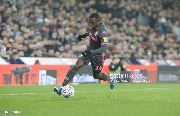 Leeds United's Edward Nketiah during the Sky Bet Championship match between West Bromwich Albion and Leeds United at The Hawthorns on January 1 2020...