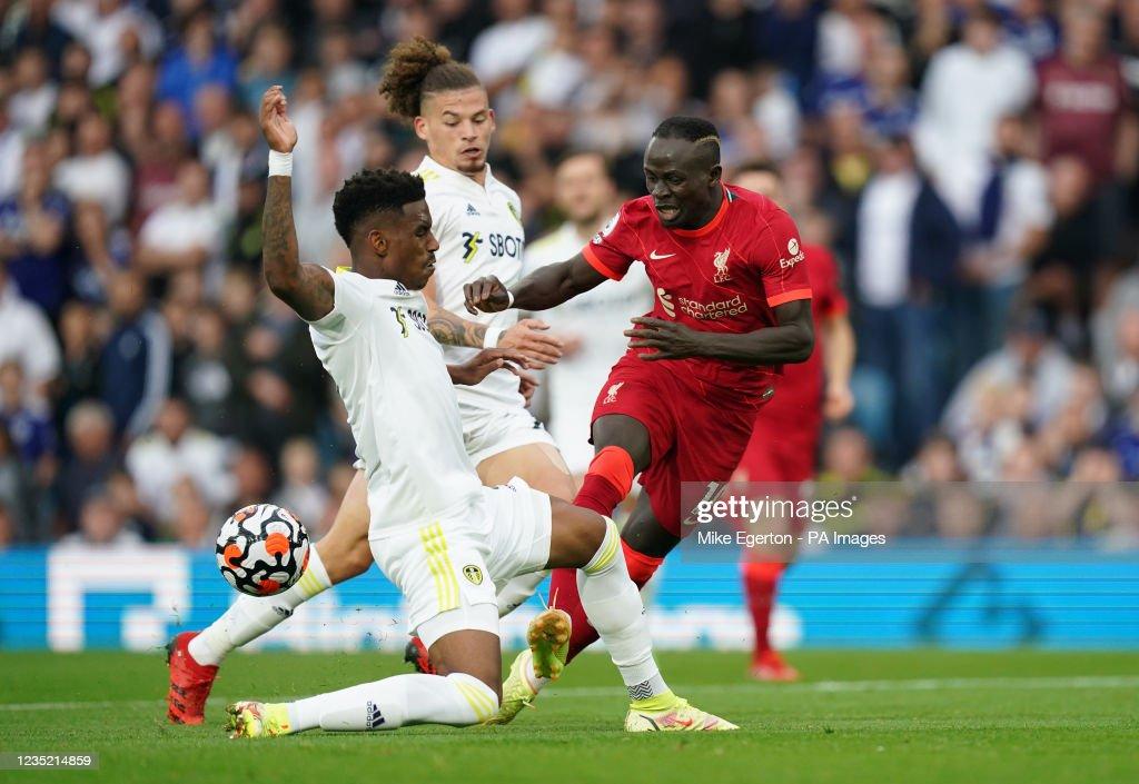 Leeds United v Liverpool - Premier League - Elland Road : News Photo