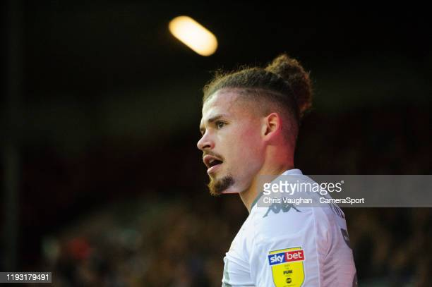 Leeds United's Kalvin Phillips during the Sky Bet Championship match between Leeds United and Sheffield Wednesday at Elland Road on January 11 2020...