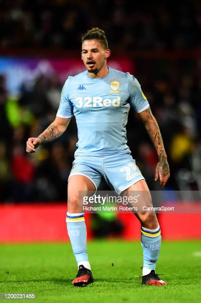 Leeds United's Kalvin Phillips in action during the Sky Bet Championship match between Brentford and Leeds United at Griffin Park on February 11 2020...