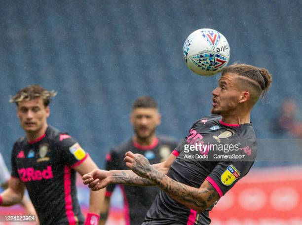 Leeds United's Kalvin Phillips in action during the Sky Bet Championship match between Blackburn Rovers and Leeds United at Ewood Park on July 4 2020...