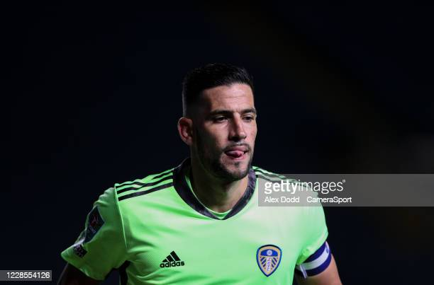 Leeds United's Kiko Casilla during the Carabao Cup Second Round Northern Section match between Leeds United and Hull City at Elland Road on September...